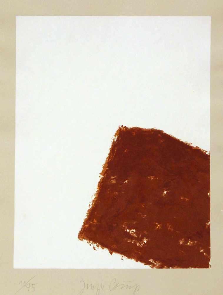 Joseph BeuysKrefeld 1921 - 1986 DüsseldorfWandernde Kiste I-V. 5 Bll. Lithographien. 1980. Jeweils