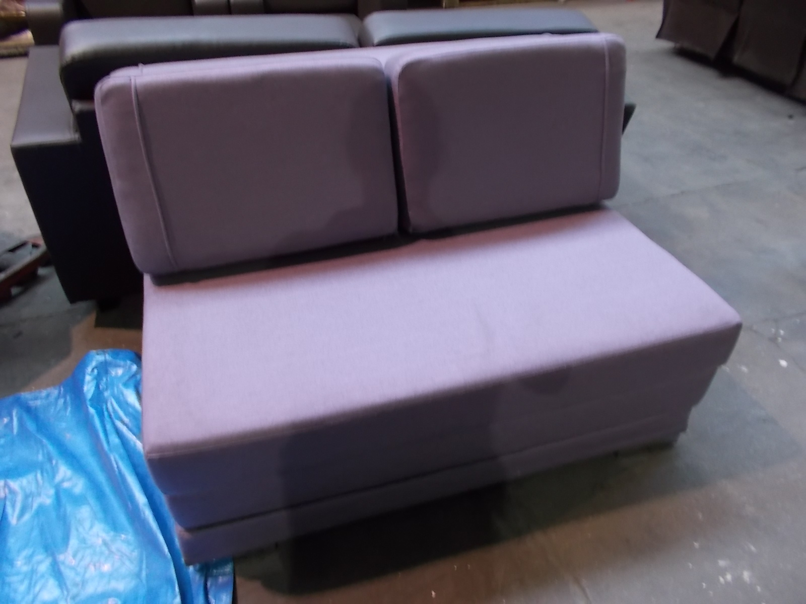 1 Sweet Dreams Lilac Fabric 2 Seater Sofa Bed