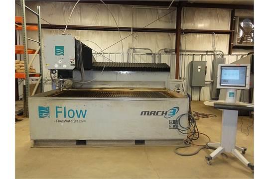 Flow IFB 4800 Waterjet, Mdl 040420-1, X=8', Y=4', Z=8