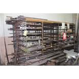 Steel Rack with assorted steel stock