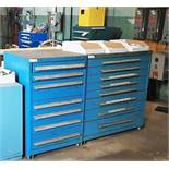 Lot of (2) 8-Drawer Heavy Duty Cabinets