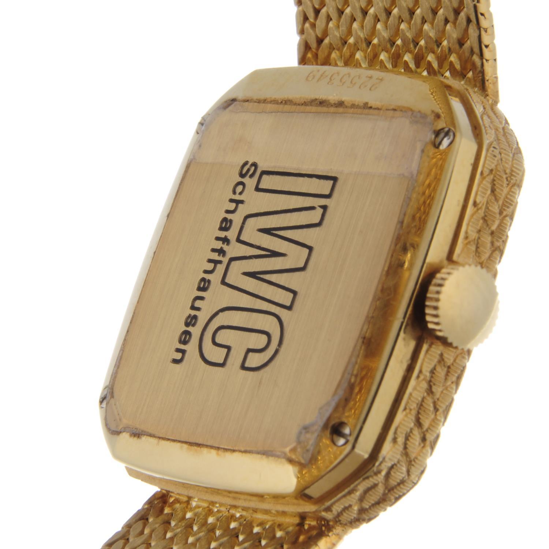 IWC - a lady's bracelet watch. - Bild 2 aus 2