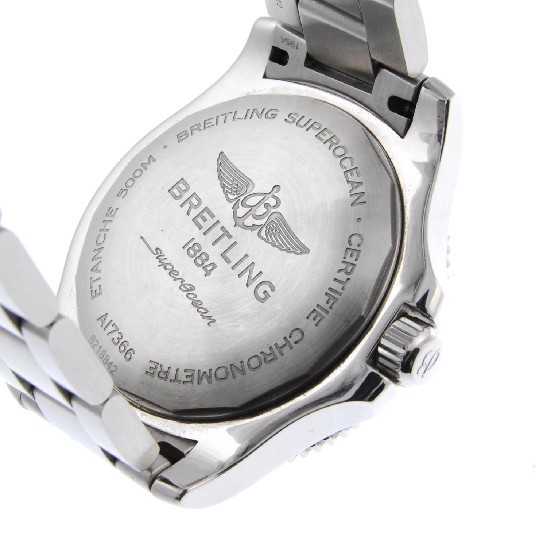 BREITLING - a gentleman's SuperOcean 42 bracelet watch. - Image 4 of 4