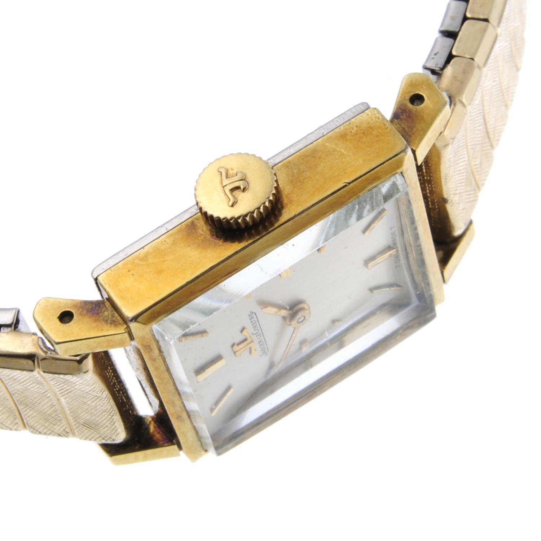JAEGER-LECOULTRE - a lady's bracelet watch. - Bild 3 aus 4