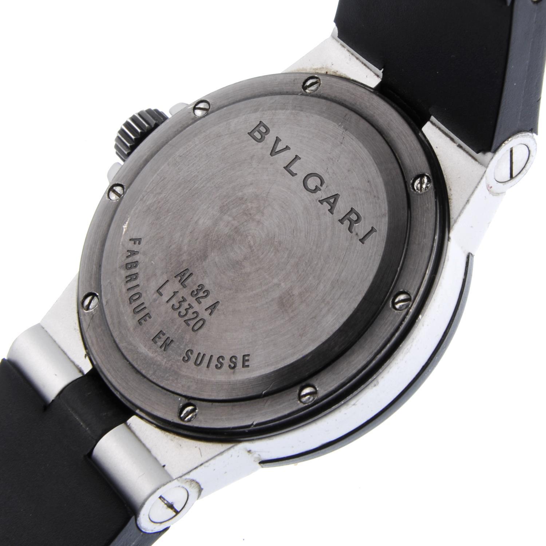 BULGARI - a mid-size Diagono Aluminium wrist watch. - Bild 3 aus 4