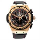 HUBLOT - a limited edition gentleman's Big Bang King Power Formula 1 chronograph wrist watch.
