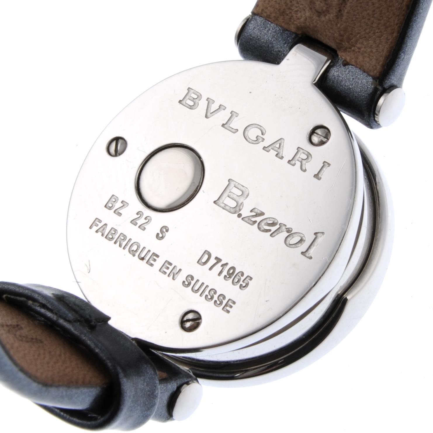 BULGARI - a lady's B.zero1 wrist watch. - Bild 3 aus 3