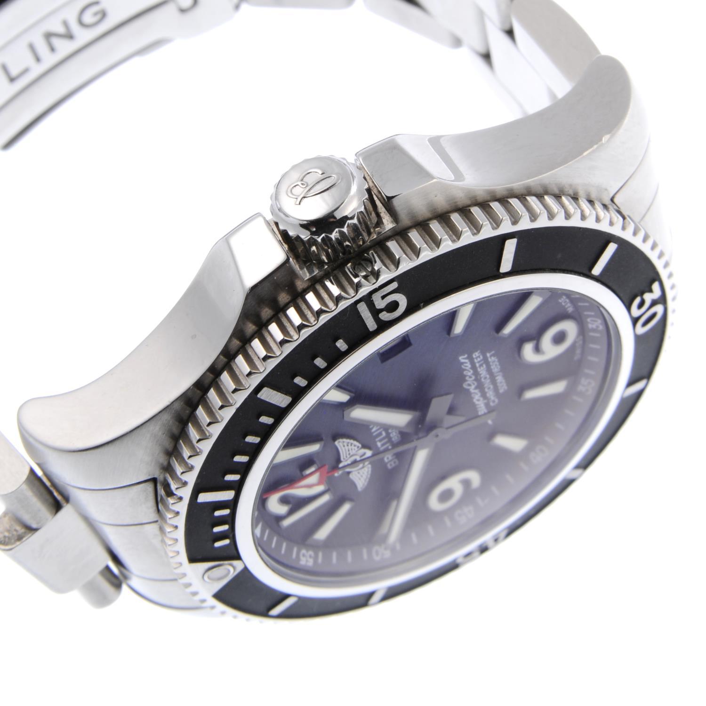 BREITLING - a gentleman's SuperOcean 42 bracelet watch. - Image 3 of 4