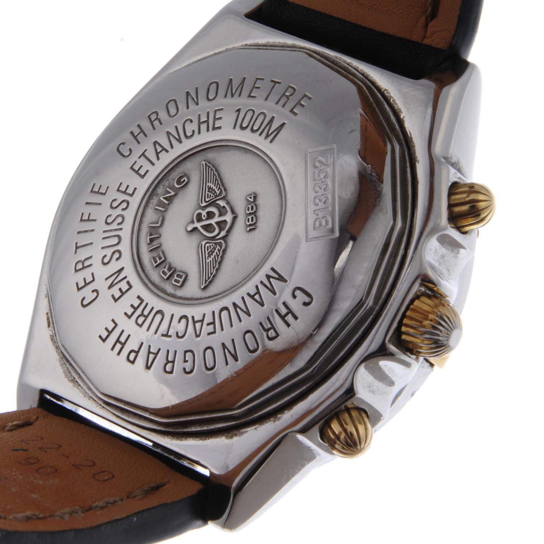 BREITLING - a gentleman's Chronomat chronograph wrist watch. - Bild 2 aus 2