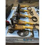 "7"" - 9"" DeWALT RIGHT ANGLE ELECTRIC GRINDERS"