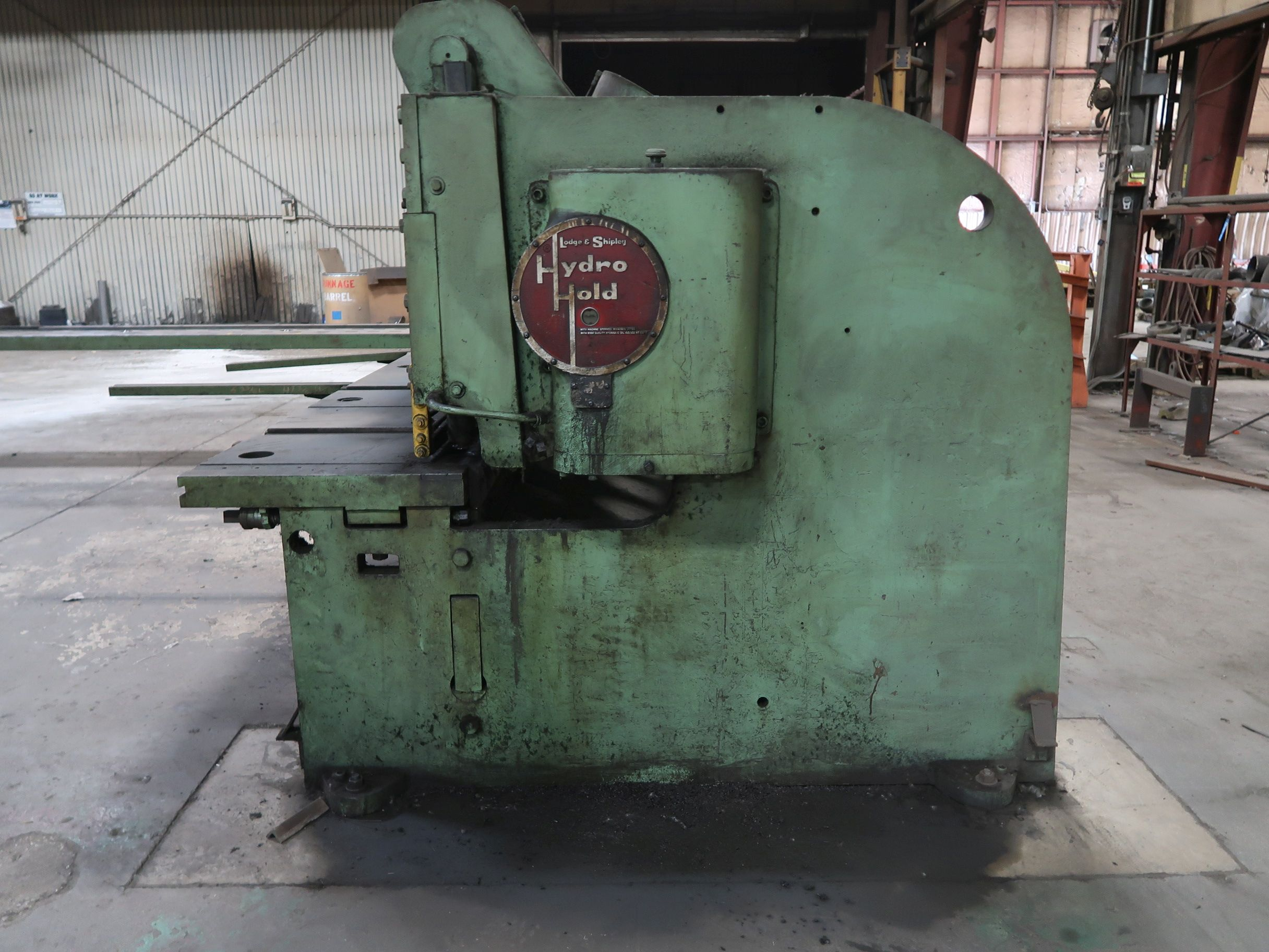 "3/8"" X 12' LODGE & SHIPLEY MODEL 0612 MECHANICAL POWER SQUARING SHEAR; S/N W175-32 - Image 3 of 10"