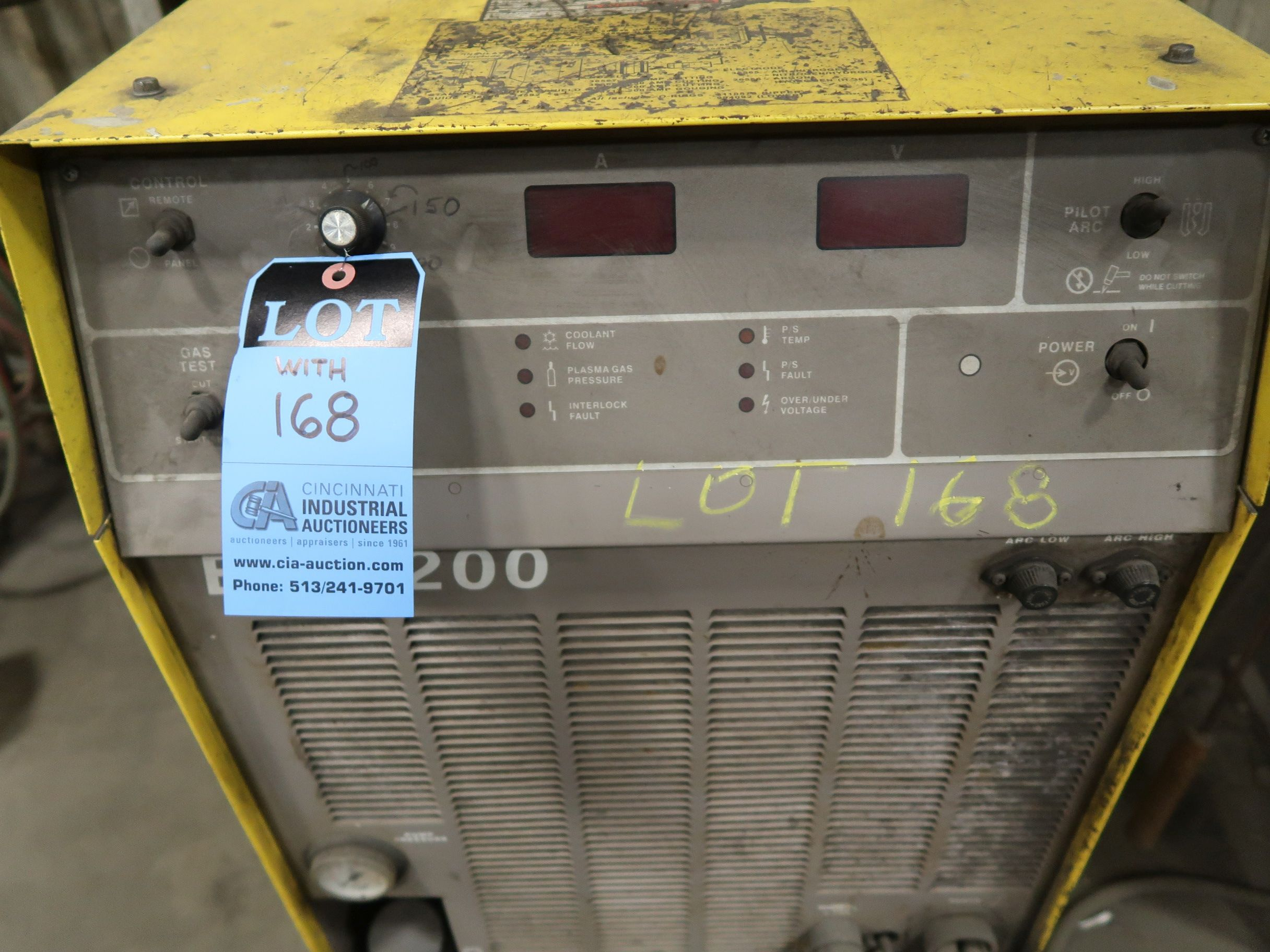 12' X 40' ESAB MODEL AVENGER 1-12 VISION PLASMA TABLE W/ BURNY 10 CONTROL; S/N 0560986386, UPDATED - Image 20 of 23