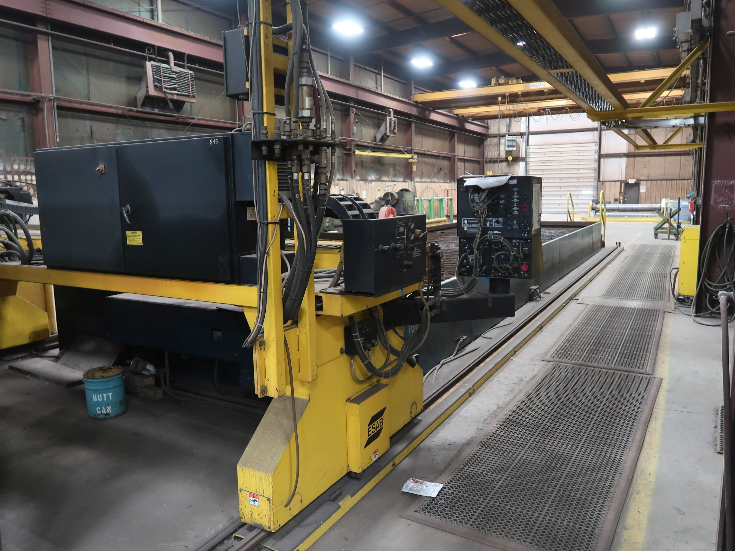 12' X 40' ESAB MODEL AVENGER 1-12 VISION PLASMA TABLE W/ BURNY 10 CONTROL; S/N 0560986386, UPDATED - Image 5 of 23