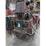 400 AMP LINCOLN DC-400 MIG WELDER W/ DOUBLE HEADER DH-10 WIRE FEED
