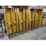 (LOT) (4) OXY ACETYLENE TANKS