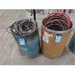 DRUMS W/ AIR HOSE & ELECTRIC CORDS
