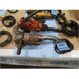 MISC. BRAND RIGHT ANGLE ELECTRIC GRINDERS