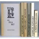 Eremiten-Presse - Alphabet[e]. Sechs Ausgaben. Herausgegeben und mit Vor- und Nachworten von V. O.