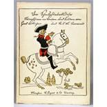 Joachim Ringelnatz - Die Schnupftabaksdose. Stumpfsinn in Versen und Bildern von Hans Bötticher