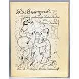 George Grosz - Edgar Firn [d. i. Karl Doehmann]. Bibergeil. Pedantische Liebeslieder. Berlin, A.