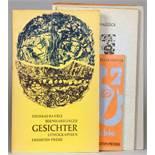 Eremiten-Presse - Thomas Bayrle und Bernhard Jäger. Gesichter. 10 Original-Lithographien. Stierstadt