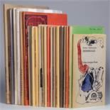 Eremiten-Presse - Aus den Reihen »Lyrik-Anthologien« (sechs von zehn Bänden), »Lyrik«(12 von 16