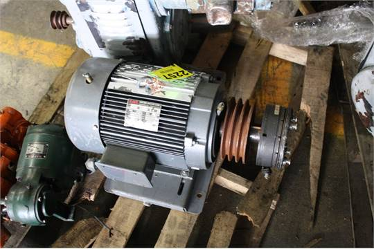 Ajax Electric Model T10 215t Motor 10 Hp 1740 Rpm 3 Phase