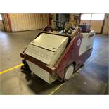POWERBOSS BADGER MODEL SW/62 ELECTRIC SWEEPER; S/N 4956121, 7,836 HOURS SHOWING, 36 VOLT SYSTEM
