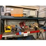 (LOT) MISCELLANEOUS MACHINE TOOLING AND PARTS **NO RACK - STAYS WITH BUILDING**
