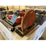 "14"" MILWAUKEE CAT NO. 6176-20 ELECTRIC ABRASIVE CHOP SAW"