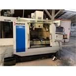 "HURCO MODEL VM2 CNC VERTICAL MACHINING CENTER; S/N 06008107BHA, 20"" X 46"" TABLE, MAX CONTROL,"
