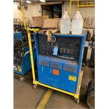300 AMP MILLER SYNCROWAVE 300 AC/DC GAS TUNGSTEN-ARC OR SHIELDED METAL ARC WELDING POWER SOURCE; S/N
