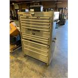 14-DRAWER STEEL GLIDE TOOL CHEST WITH MISCELLANEOUS HAND TOOLS