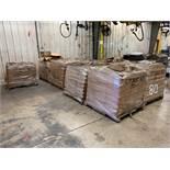 SKIDS 640 BOXES APPROX. LP GAS BRACKET KITS