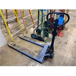 """5,500 LB. CAPACITY HAND HYDRAULIC PALLET TRUCK, 48"""" FORKS"""