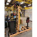 FANUC ARCMATE 100/B ROBOTIC MIG WELDER NO. F-69014 WITH LINCOLN ELECTRIC POWER REAM