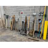 (LOT) LONG HANDLE TOOLS