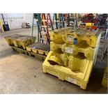 (LOT) MISCELLANEOUS ENPAC POLY STACKERS, WITH SPILL PALLETS SINGLE STACKERS AND OIL ONLY SPILL KIT