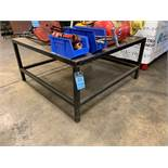"59"" X 60"" X 29"" HIGH HEAVY DUTY STEEL FRAME AND TOP BENCH"