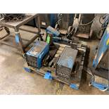 (LOT) (2) 24 VOLT MILLER 60 SERIES WIRE FEEDERS AND (1) 70 SERIES WIRE FEEDER