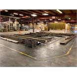 (LOT) SUPER LARGE QUANTITY MISCELLANEOUS STEEL FLAT STOCK, BAR, PIPE, CHANNEL OF ALL SIZE AND