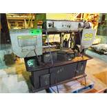 """HYD-MECH S-20 AUTOMATIC HORIZONTAL BAND SAW WITH 13""""X18"""" CAPACITY, 370 RPM, 2 HP, VARIABLE FEED"""