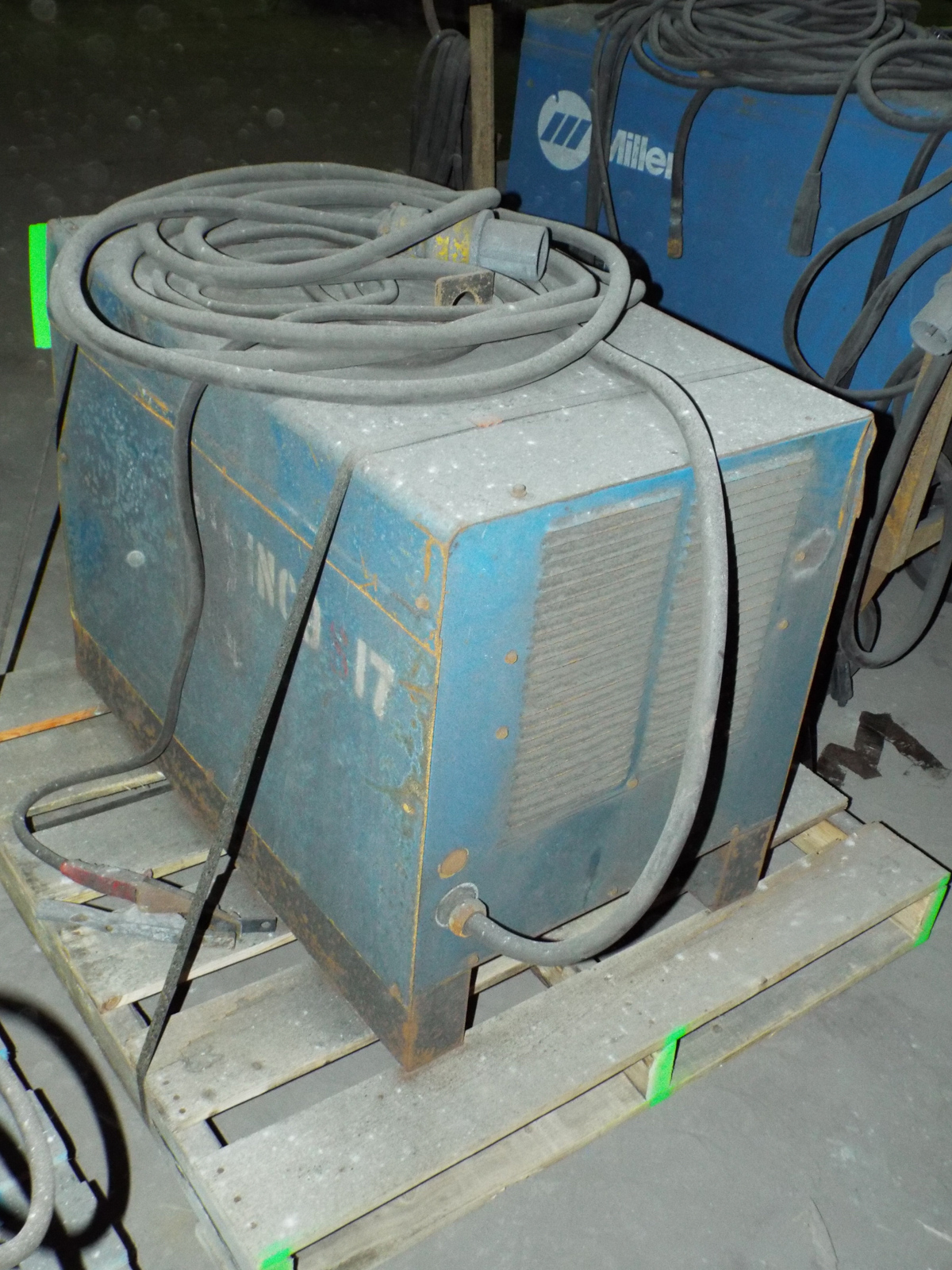 Lot 7 - MILLER INTELLIWELD 650 WELDING POWER SOURCE WITH CABLES, S/N: N/A