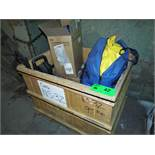 LOT/ CONTENTS OF CRATE - (6) DUPONT TYCHEM PPE ENCAPSULATED SUITS, (1) 1900 PSI PRESSURE WASHER, (1)