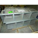 LOT/ CONTENTS OF SKID - (4) FOLDING GUARD STOR-MORE STORAGE CAGES (PLT NS-3FF)