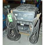 MILLER DIMENSION 652 DIGITAL WELDING POWER SOURCE WITH CABLES, S/N: MB130038U