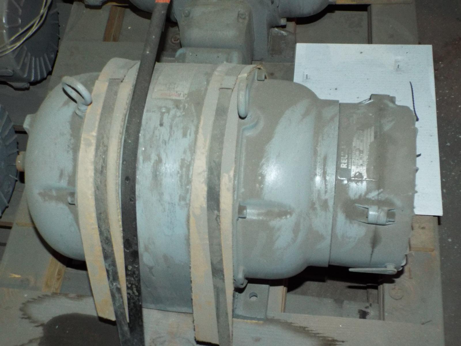 LOT/ (4) REULAND HOIST MOTORS 7.5HP/1800RPM/575V/3PH/60HZ/254U WITH MAGNETIC BRAKE (PLT 6L) - Image 4 of 5