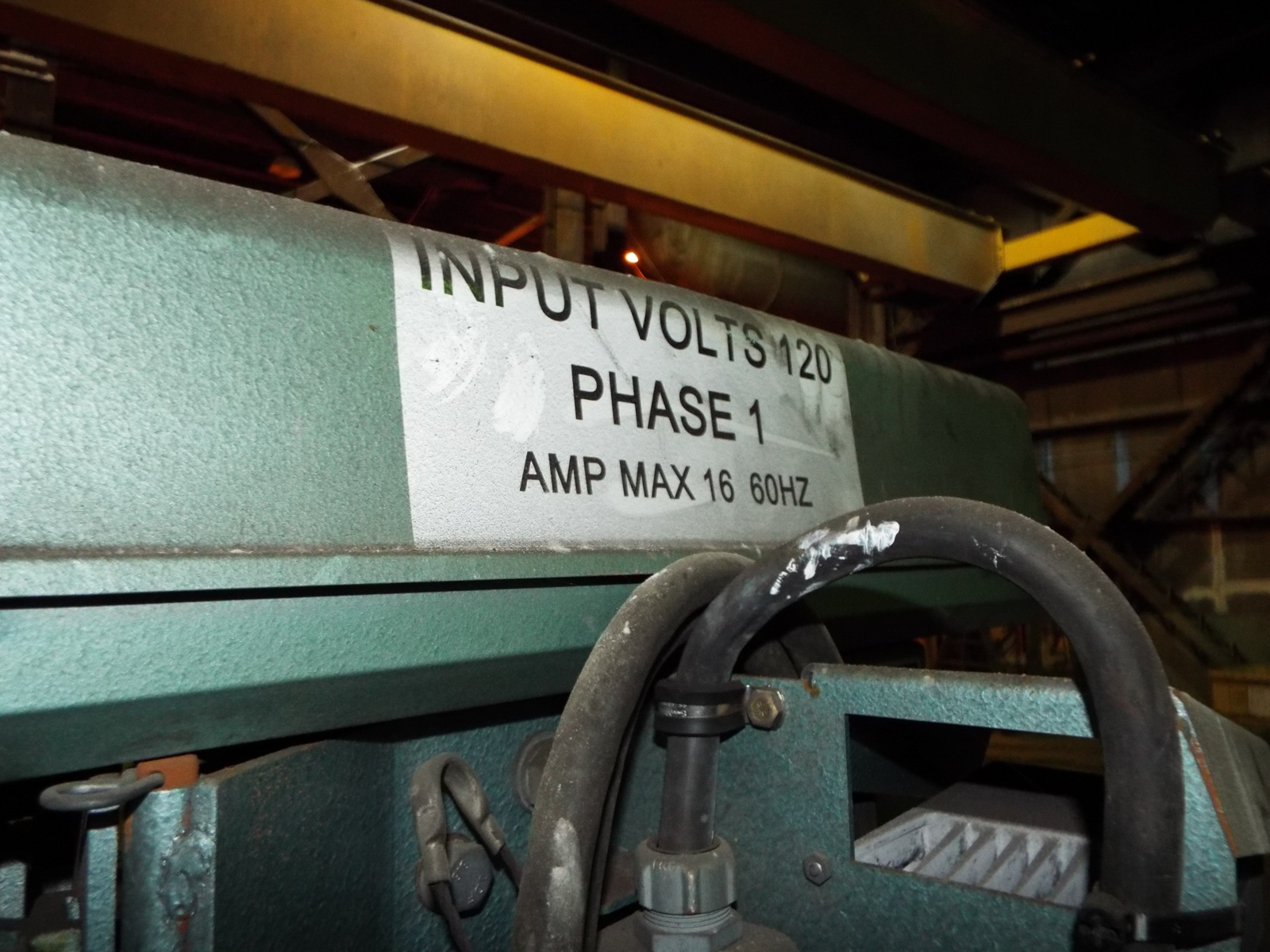 "Lot 13 - TAYLOR WINFIELD NV-1 SPOT WELDERS WITH UNITROL SOLUTION DIGITAL CONTROL, 20 KVA, 575V, 8"" THROAT, 6"""