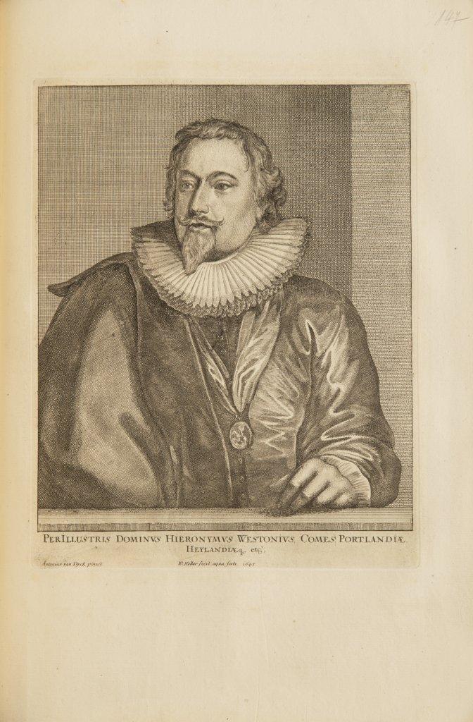 ANTHONIS VAN DYCK 1599 - 1641: LE CABINET DES PLUS BEAUX PORTRAITS DE PLUSIEURS PRINCES ET - Image 5 of 9