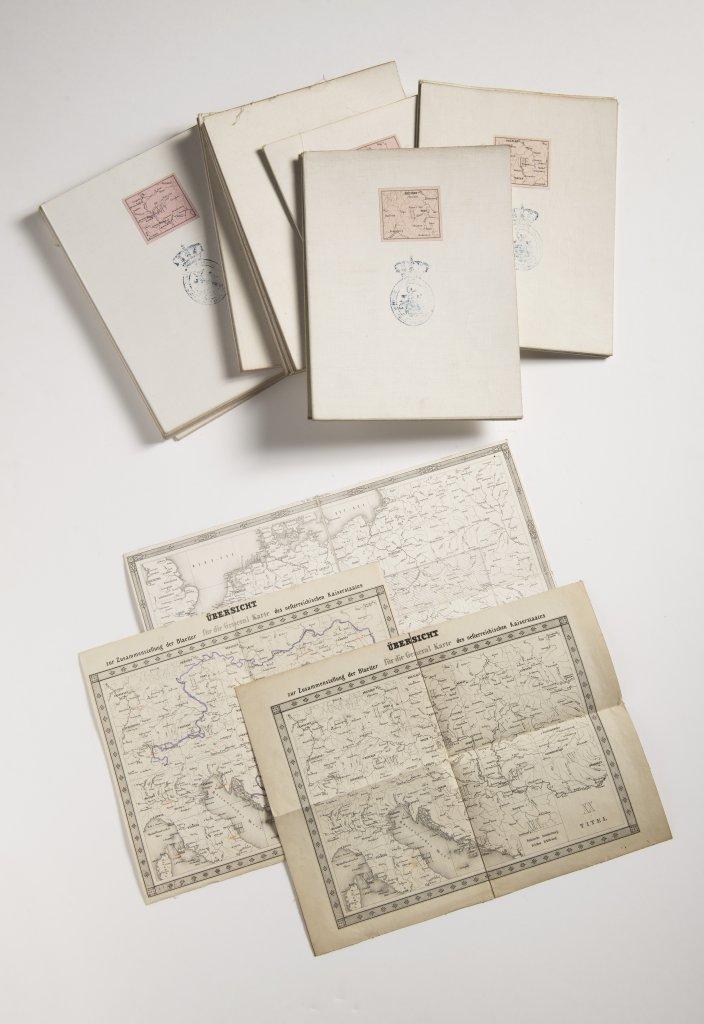 GENERAL-KARTE DES OESTERREICHISCHEN KAISERSTAATES VON DEM KAISERLICH-KÖNIGLICHEN MILITÄR- - Image 3 of 3